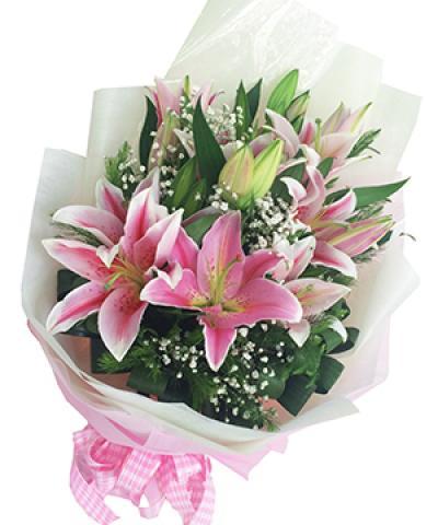 Hoa ly đẹp, quà tặng tuyệt vời cho ngày sinh nhật