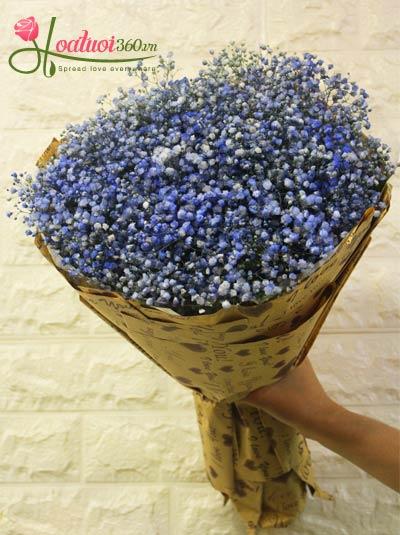 Bó hoa baby xanh - Niềm hy vọng của anh