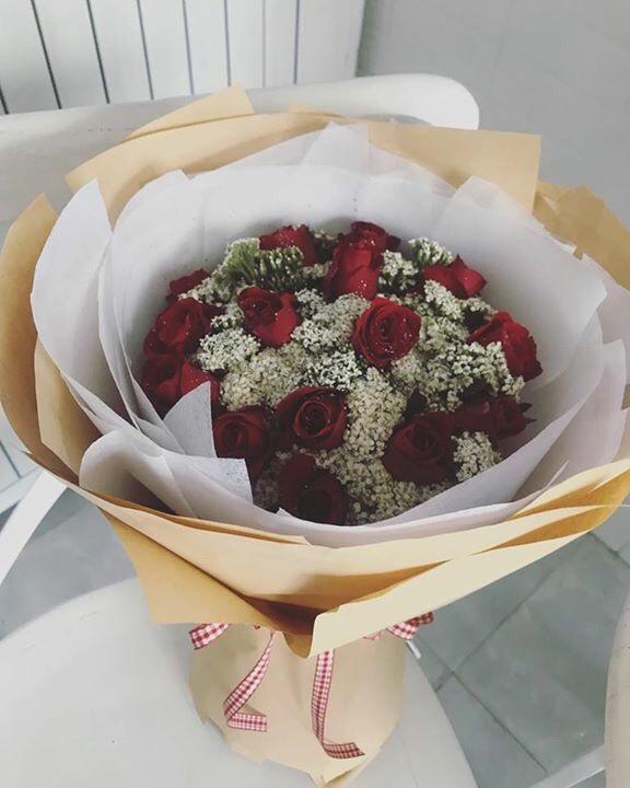 Bó hoa Chào xuân