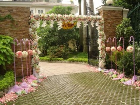 Cổng hoa cưới 03_Hoa Tươi 360