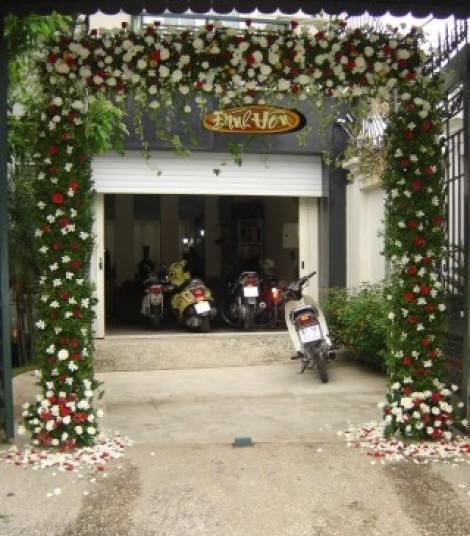 Cổng hoa cưới 04_Hoa Tươi 360