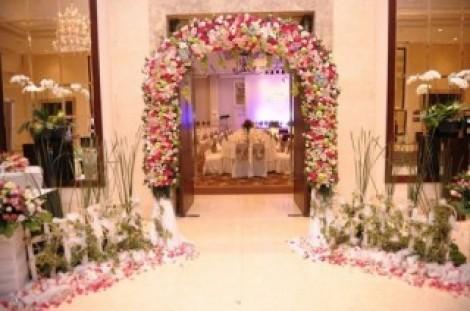 Cổng hoa cưới 05_Hoa Tươi 360