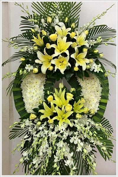 """Kết quả hình ảnh cho hoa chia buồn đám tang"""""""