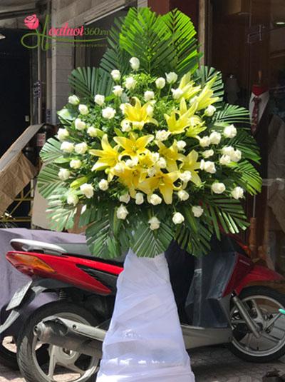 Hoa chia buồn- Một đời người