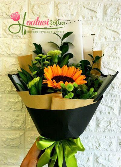 Bó hoa hướng dương - Ánh dương