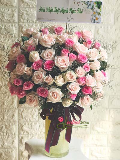 Bình hoa chúc mừng -Sang trọng