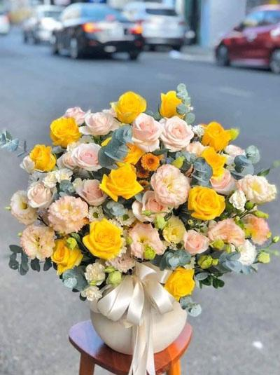 Bình hoa đáng yêu