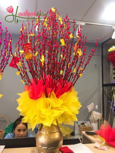 Bình hoa tầm xuân - Hương mùa xuân