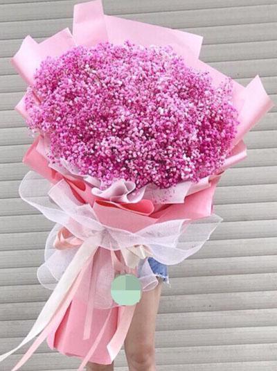 Bó baby hồng khổng lồ