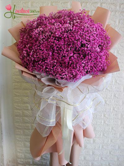 Bó hoa baby hồng - Dành cho em