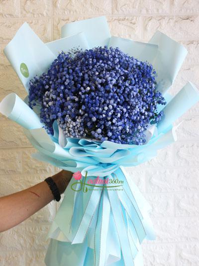 Bó hoa baby xanh - Be my love