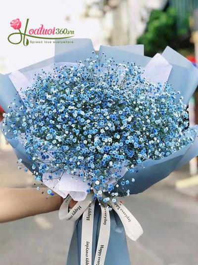 Bó hoa baby xanh - Ngọc sắc