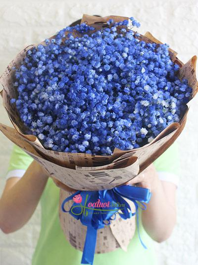 Bó hoa baby xanh - Tình anh đại dương