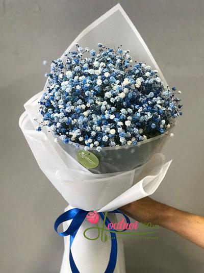 Bó hoa baby xanh - Tình yêu màu xanh