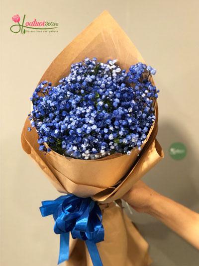 Bó hoa baby xanh xinh xắn