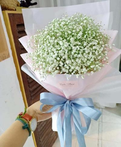 Bó hoa baby xinh xắn