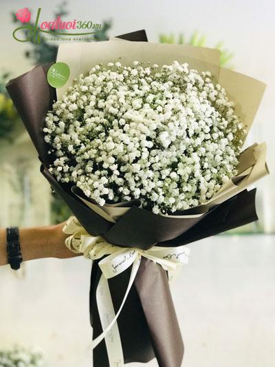 Bó hoa baby xinh xắn 2