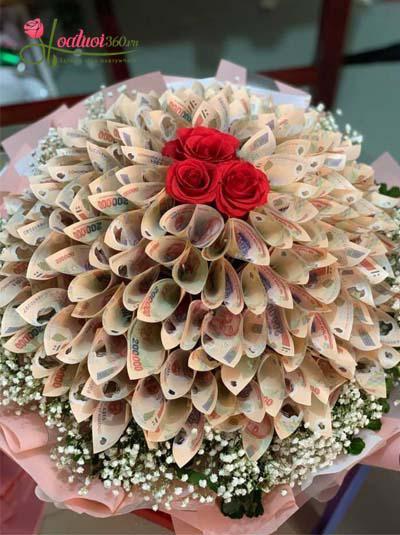 Bó hoa bằng tiền - Dành trọn cho em
