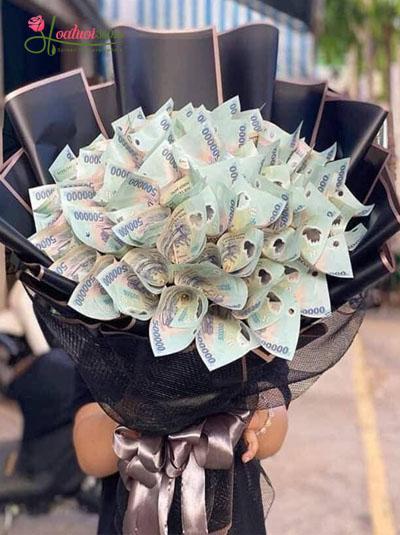 Bó hoa bằng tiền - Hạnh phúc vô bờ bến