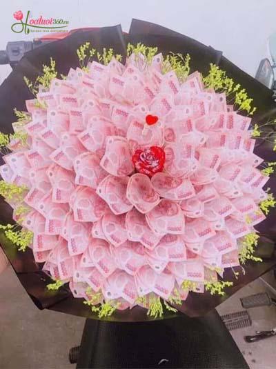 Bó hoa bằng tiền - Ngàn lời yêu