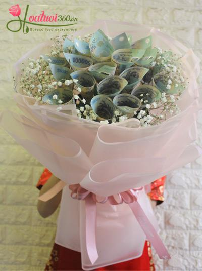 Bó hoa bằng tiền - Thanh xuân lấp lánh