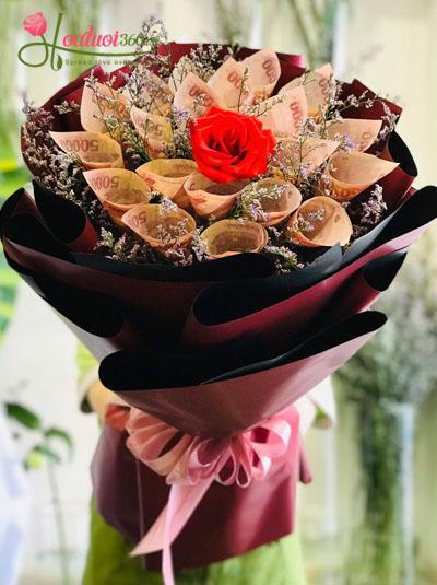 Bó hoa bằng tiền - Vì anh thương em