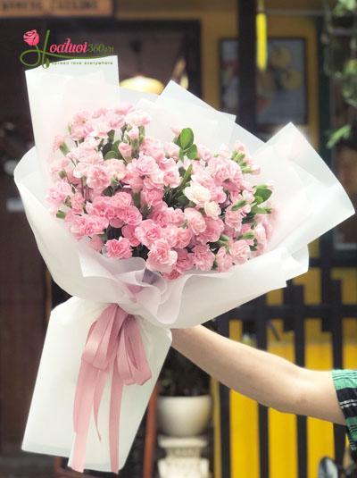 Bó hoa cẩm chướng- Điều ngọt ngào nhất