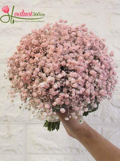 Bó hoa cầm tay cô dâu - Ngày hồng