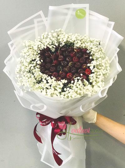 Bó hoa cherry - Điều ngọt ngào