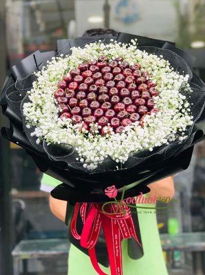 Bó hoa cherry - Vị ngọt đôi môi