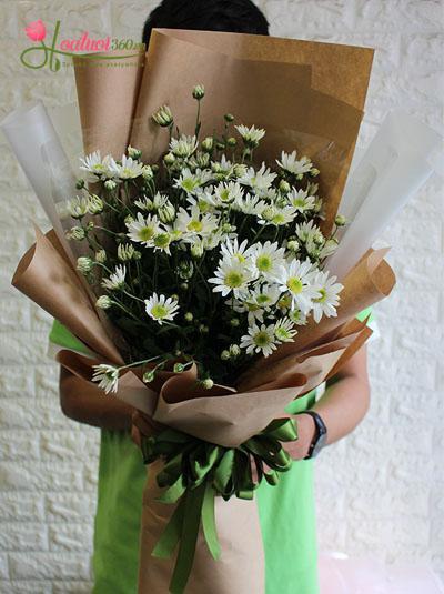 Bó hoa cúc họa mi - Điều tuyệt vời của tạo hóa