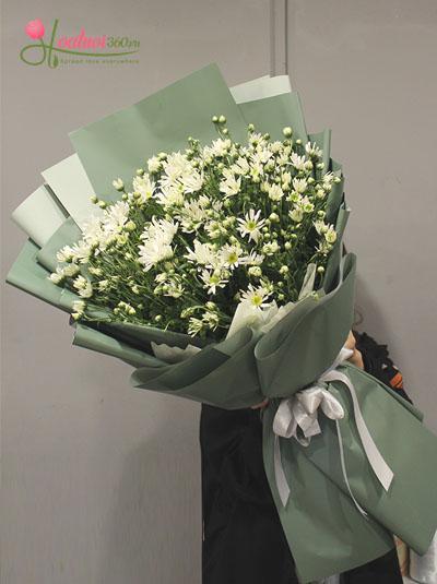 Bó hoa cúc họa mi - Tình yêu Hà Nội