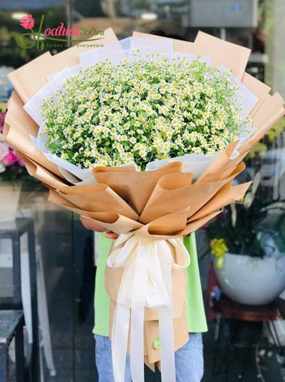 Bó hoa cúc tana - Ấm áp ngọt ngào