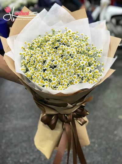 Bó hoa cúc tana - Một nắng mai