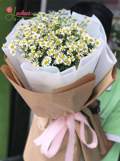 Bó hoa cúc tana - Nụ cười ngây thơ