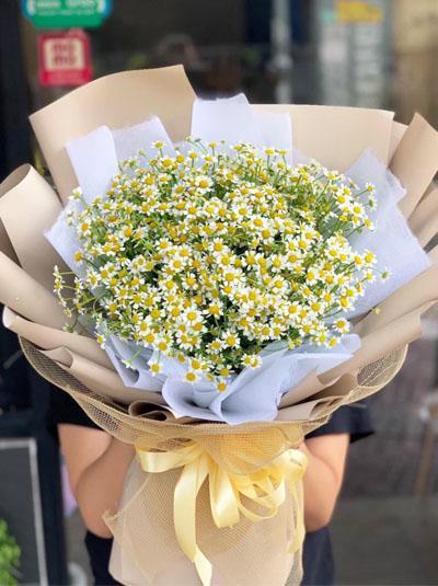 Bó hoa cúc tana - Sự giản đơn