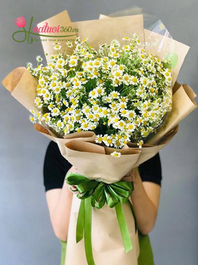 Bó hoa cúc Tana - Tia ấm áp