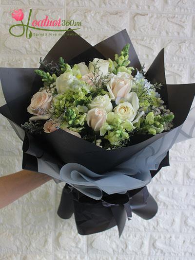 Bó hoa đẹp nhã nhặn