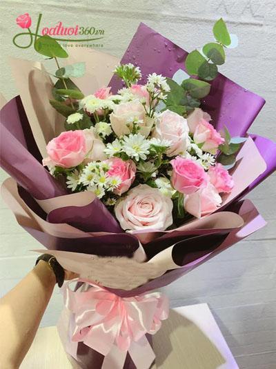 Bó hoa đẹp - Tình ngọt ngào