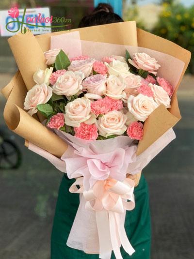 Bó hoa đẹp và sang trọng