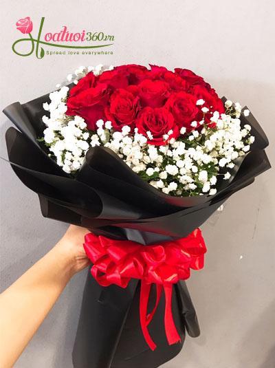 Bó hoa hồng cực đẹp