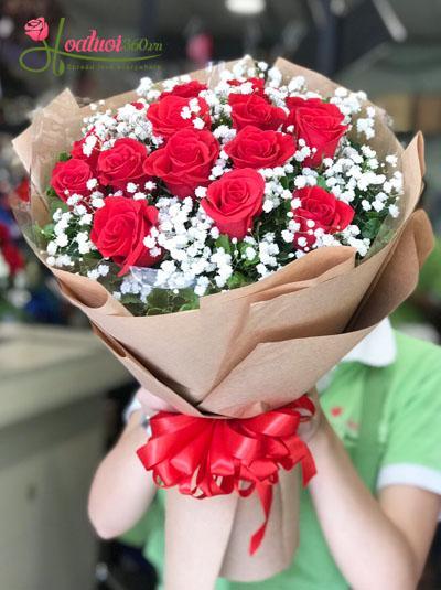 Bó hoa hồng- Dành cho em