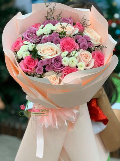 Bó hoa hồng - Đêm tuyệt vời