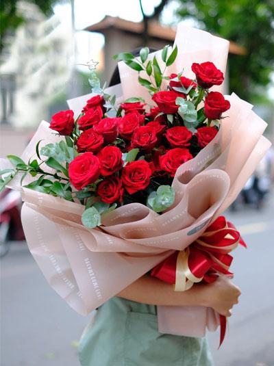 Bó hoa hồng đẹp nhất tặng bạn gái