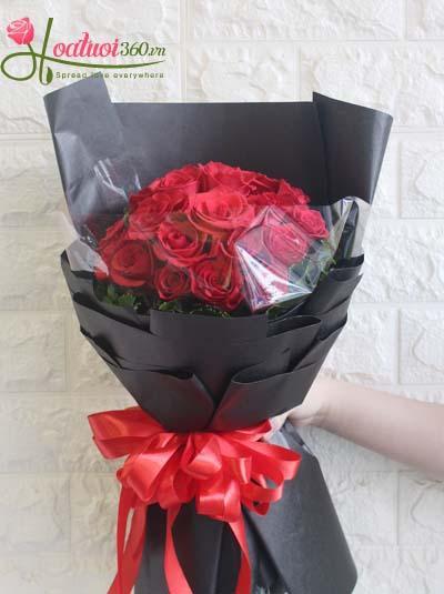 Bó hoa hồng đẹp - Sự huyền bí