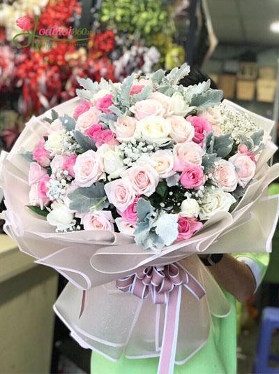 Bó hoa hồng - Điều tuyệt vời nhất