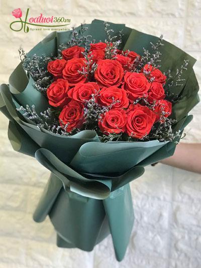 Bó hoa hồng đỏ - Big love