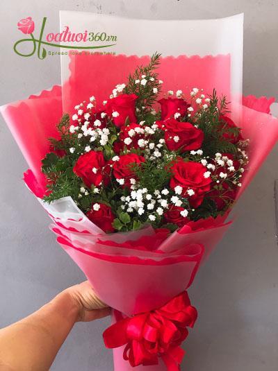Bó hoa hồng đỏ - For you