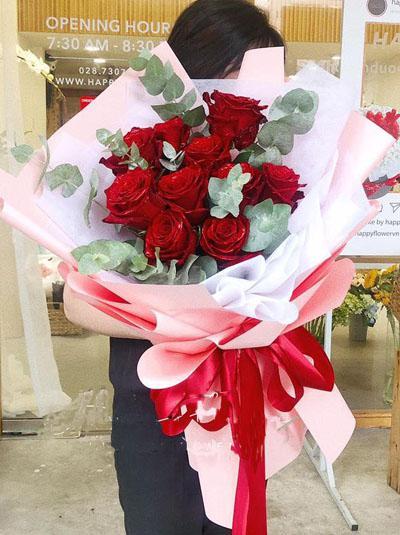 Bó hoa hồng Ecuador - Điều bất ngờ