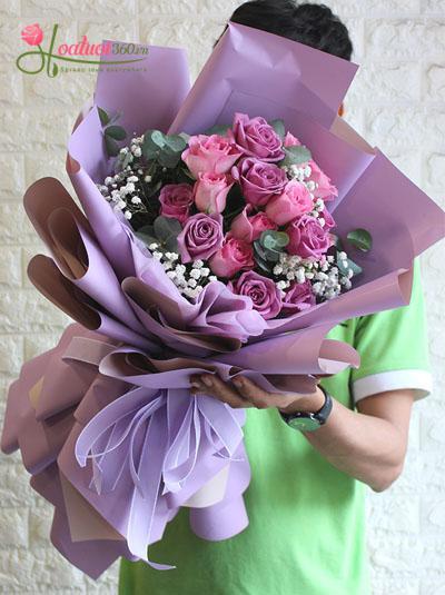 Bó hoa hồng - Đêm lãng mạn